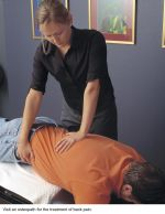 Osteo treating lower back